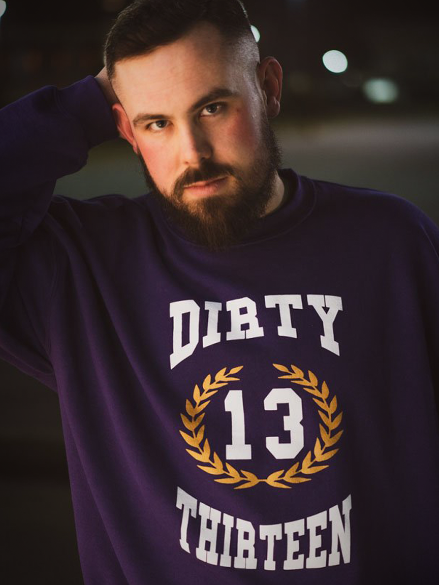 Image of Purple Crewneck