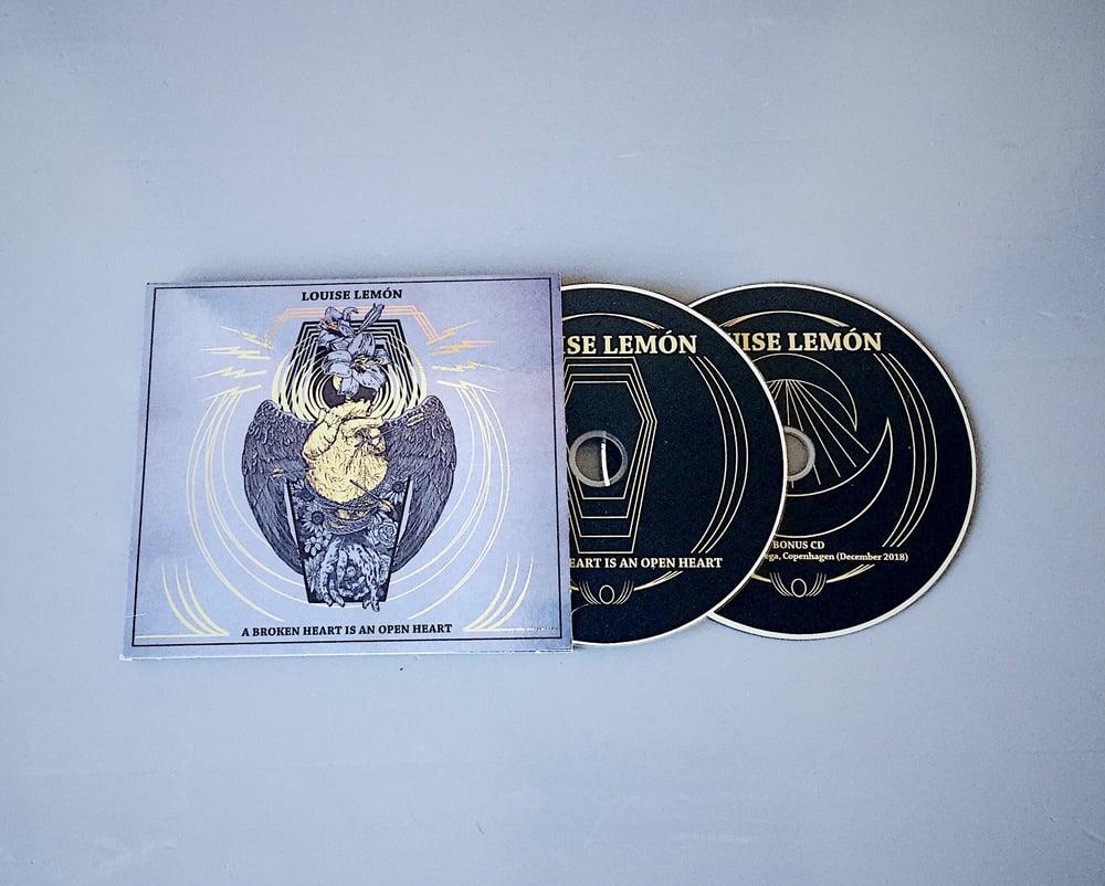 Image of Louise Lemón - 'A Broken Heart is an Open Heart' (CD)