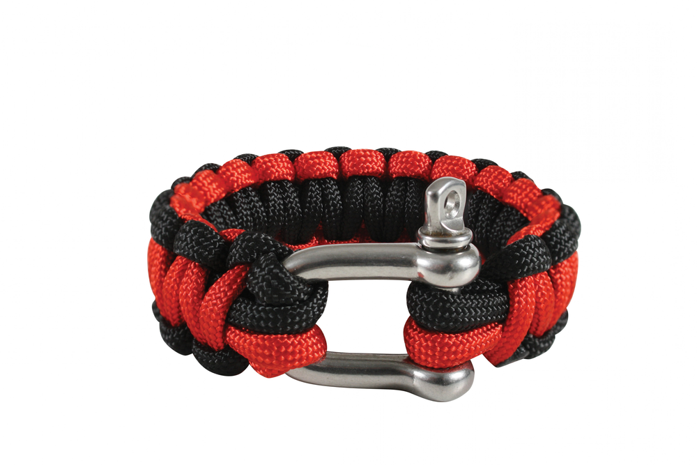 Image of Paracord Bracelet with D-Shackle
