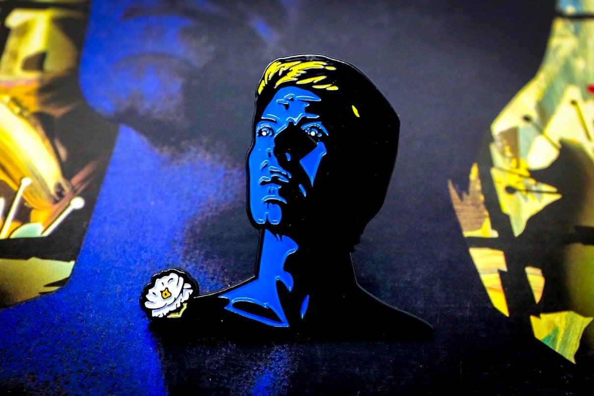 Image of David Bowie - Tonight Enamel Pin