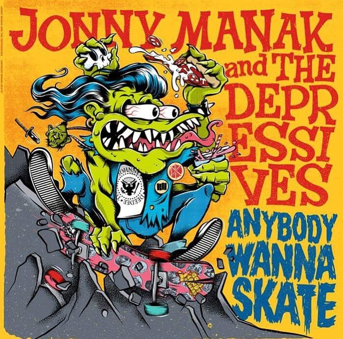 "Image of Anybody Wanna Skate 12"" Vinyl Record"