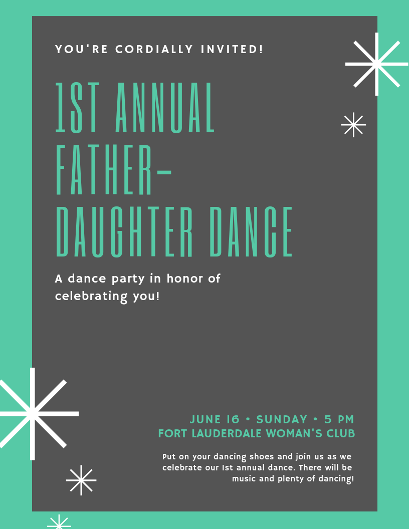 Image of 1st Annual Father Daughter Dance