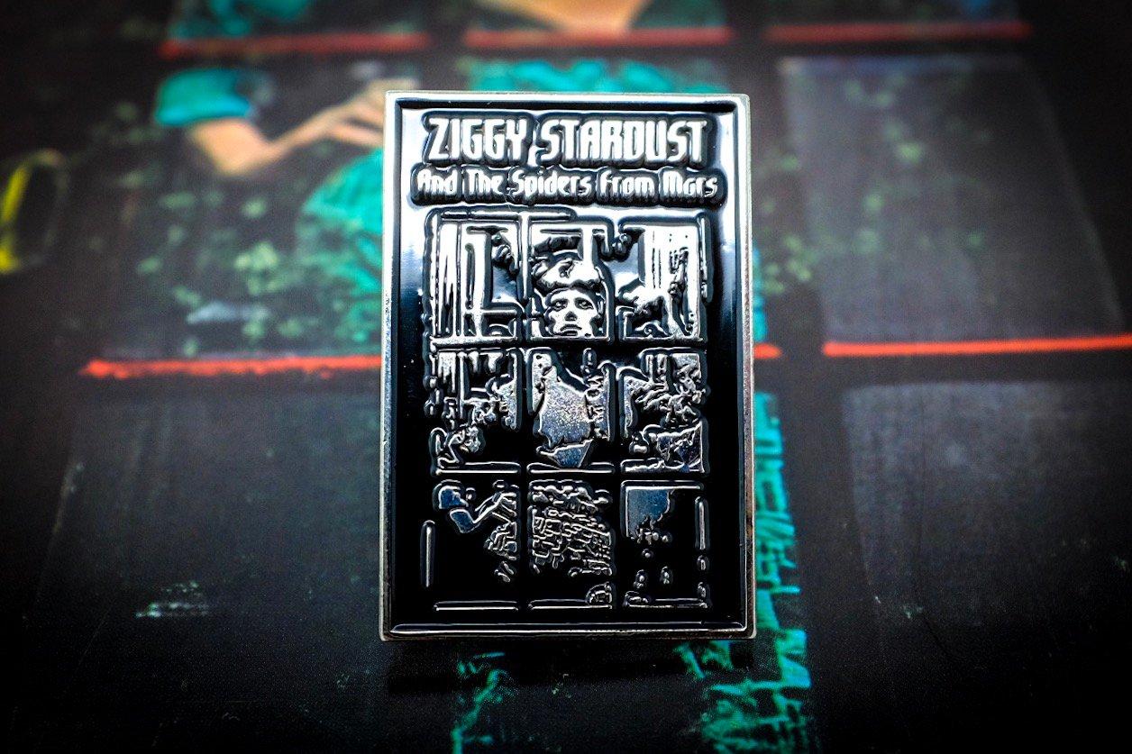 Image of David Bowie - Ziggy Stardust Enamel Pin