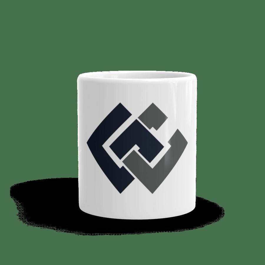 Image of Grindstone White Glossy Mug