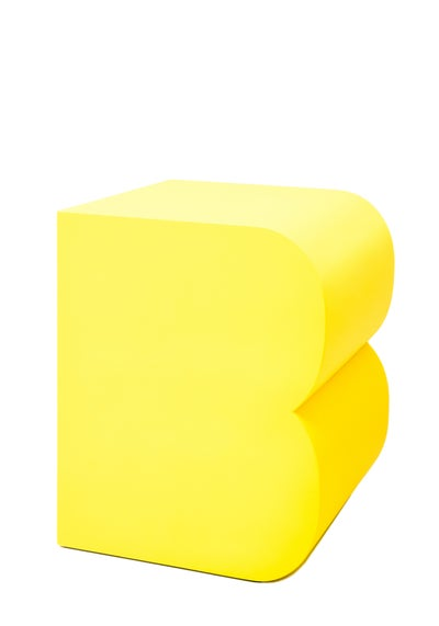 Image of B - Buchstabenhocker / letter stool