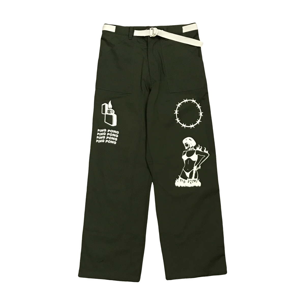 Image of BARBED Pants