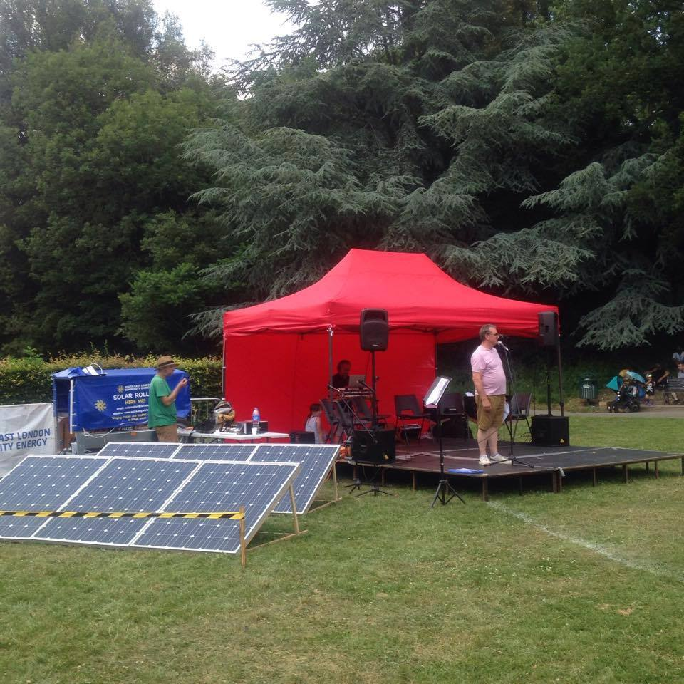 Image of SOLAR SOUND SYSTEM HIRE
