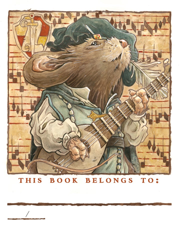 Image of Mouse Guard 2019 Bookplate