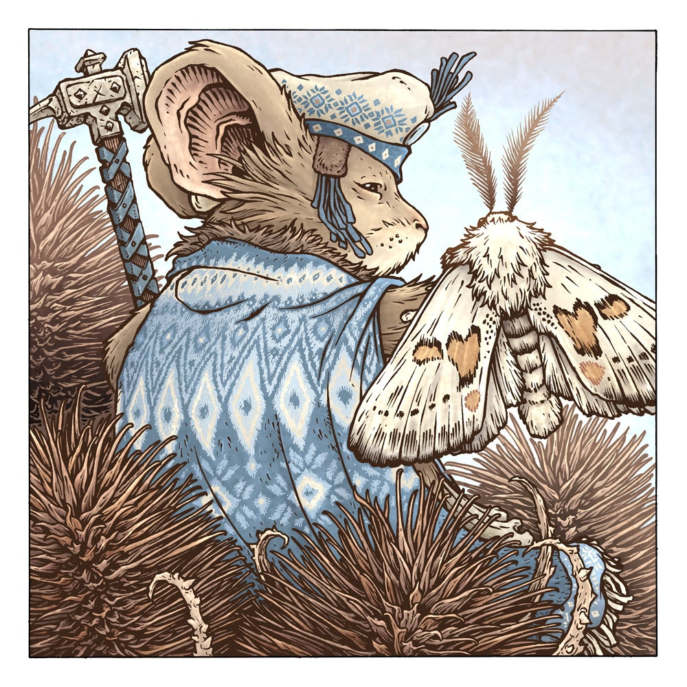 Image of Limited Edition Teasel Print