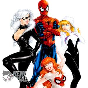 Image of Spider-man Loves