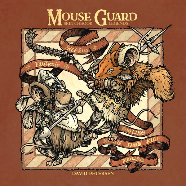 Image of Mouse Guard Sketchbook: 'Legends'
