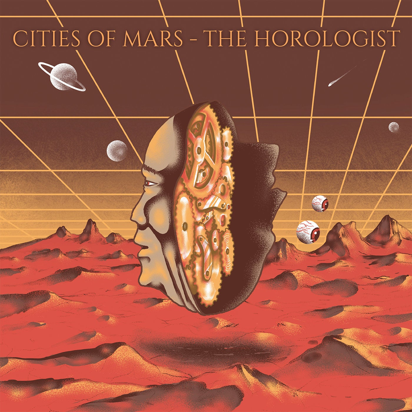 "Image of Cities of Mars - The Horologist ""Blackest Space"" Black Vinyl Edition LP"