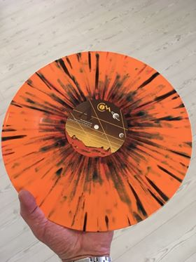 "Image of Cities of Mars - The Horologist ""The Red Planet"" Multicolor/Splatter Limited Edition Vinyl LP"