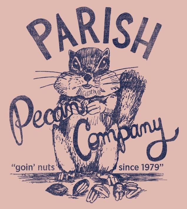 Image of Adult Parish Pecan V neck Tee