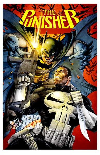 Image of Batman vs Punisher (Title)