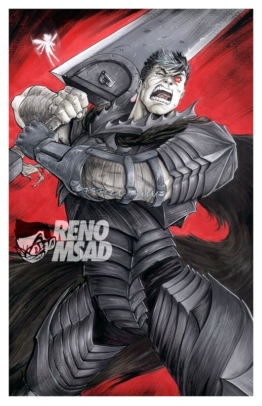 Image of Guts from Berserk