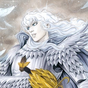 Image of Griffith from Berserk