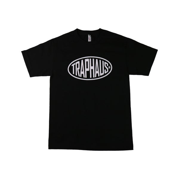 Image of BAGUETTTE LOGO BLACK T-SHIRT