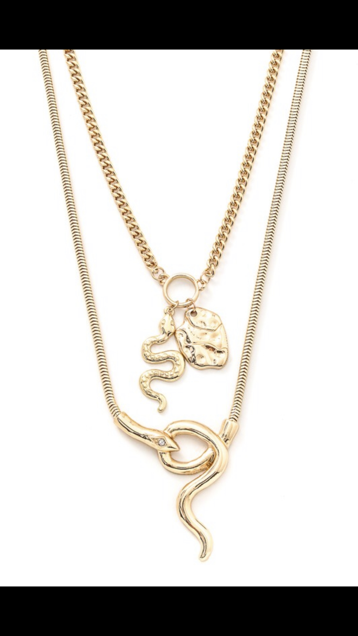 "Image of ""Cobra"" necklace"