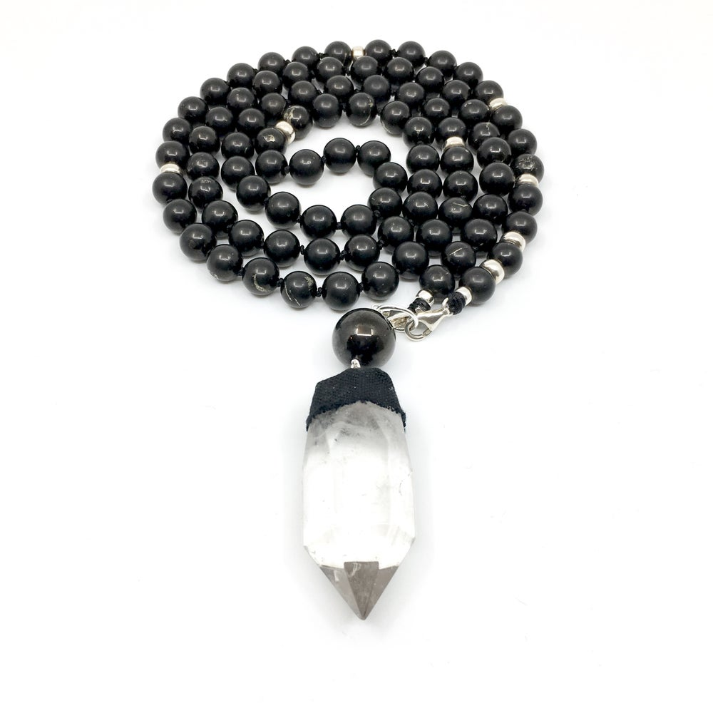 Image of New! All Shungite Mala 88
