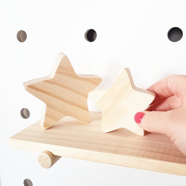 Image of Wooden Stars