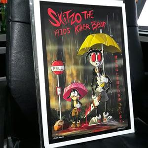 Image of Skitzo Movie Poster - Bus Stop