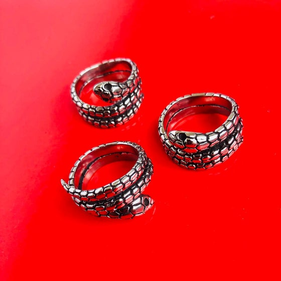 Image of WRAP AROUND SNAKE RING