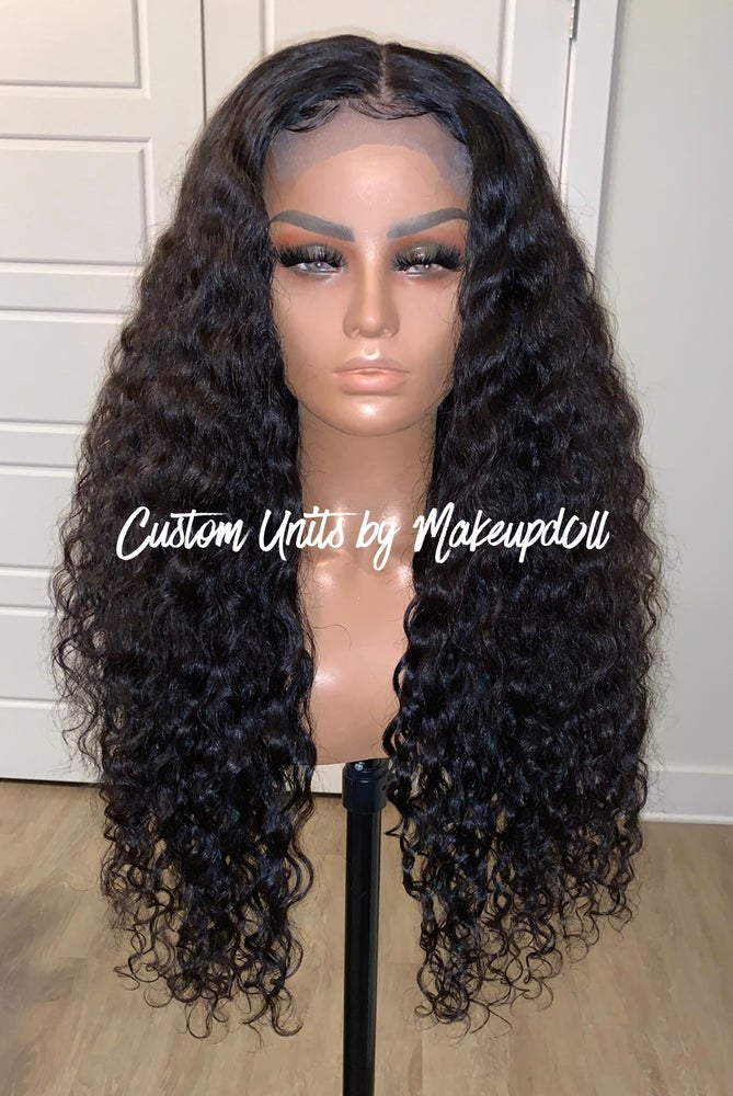 "Image of Cambodian Natural Wave 26"" Custom Lace Closure Wig! (Super Full)"