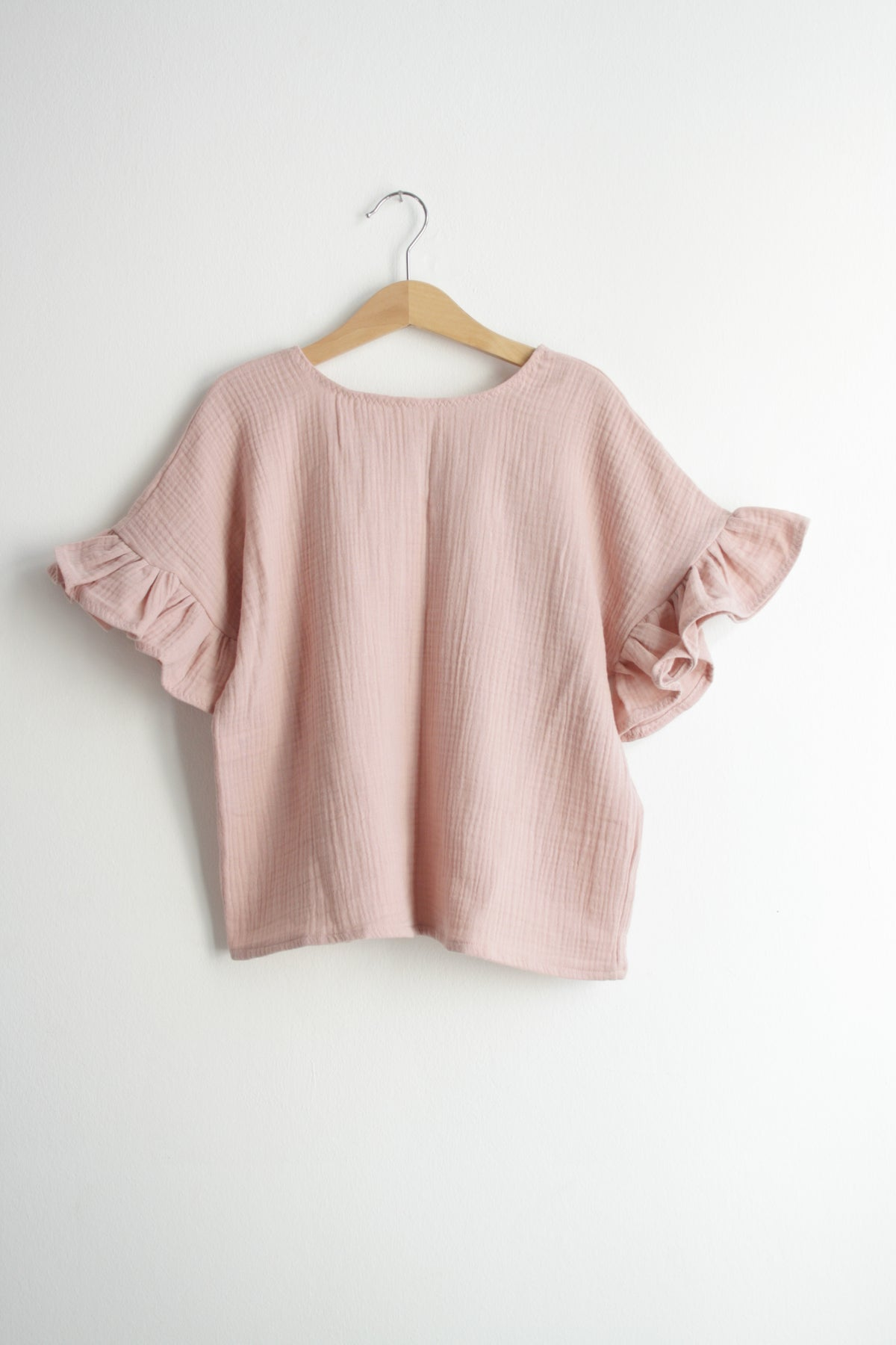 Jonna blouse-rose gauze