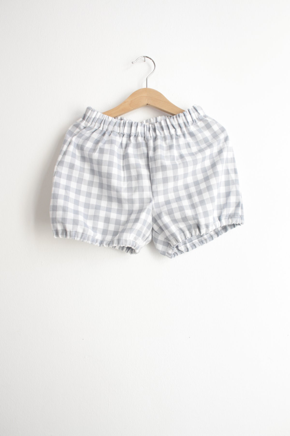 Bloomers-grey check