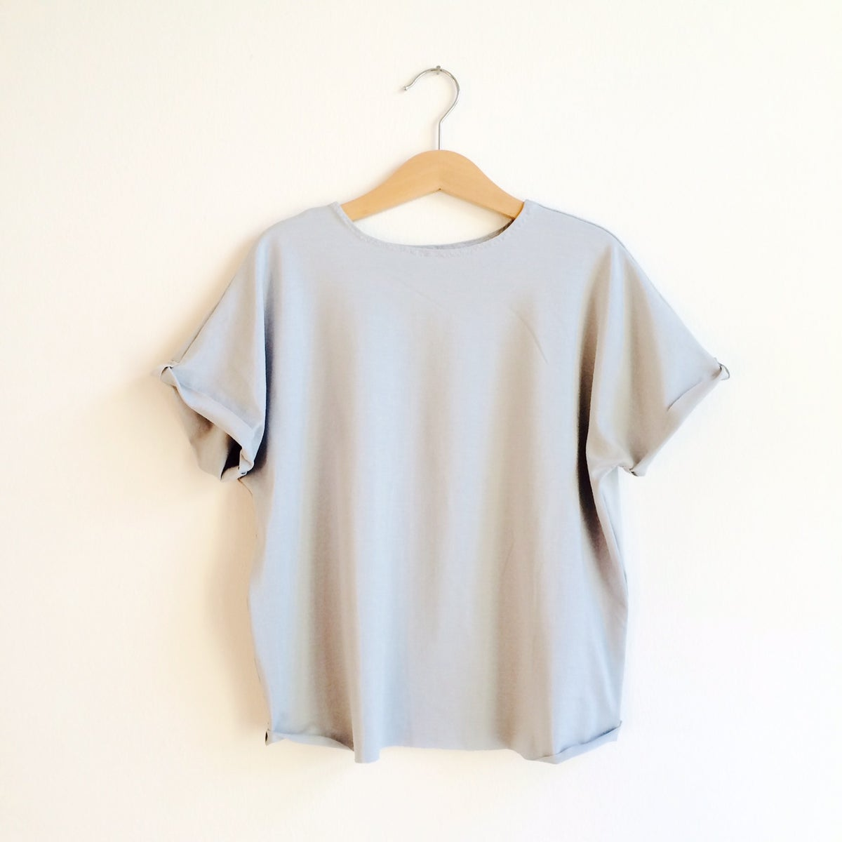 Easy Tee - grey, blue and pale blue