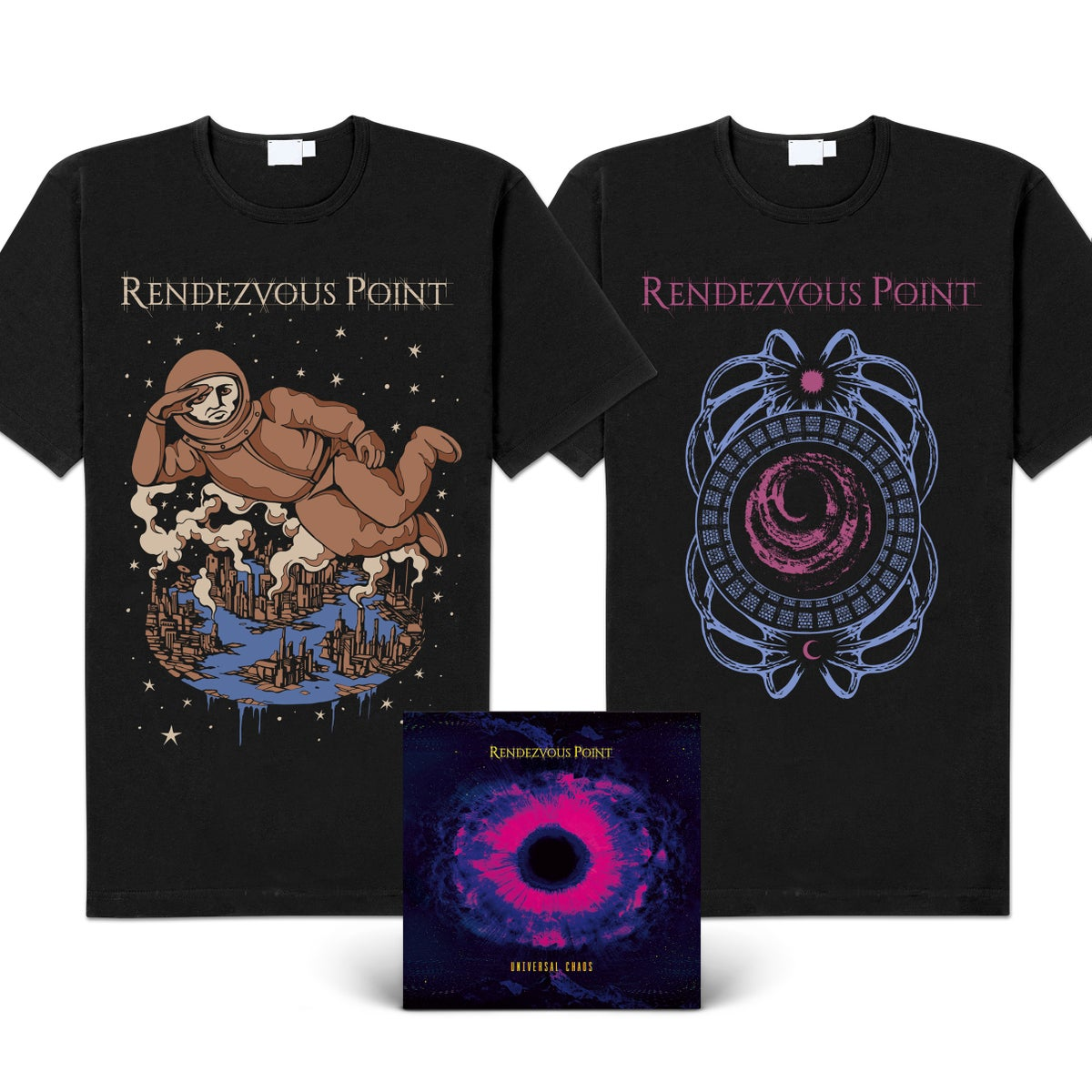 "Image of Rendezvous Point ""Universal Chaos"" Download Code & CD-Bundles"