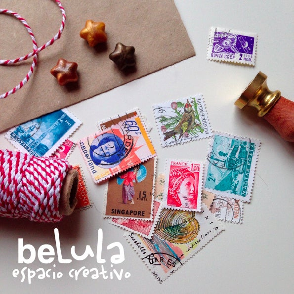 Image of Sellos postales antiguos