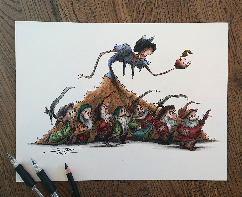 Image of #79 Snow White Creepyfied