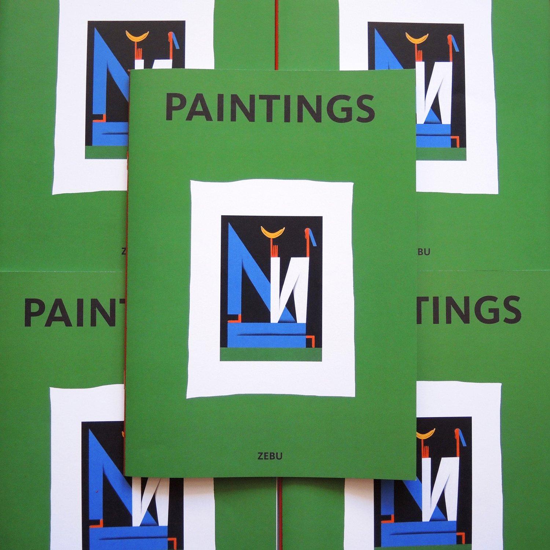 Image of Paintings Zine
