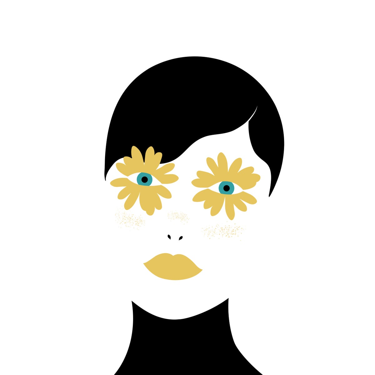 Image of Eyes of daisies