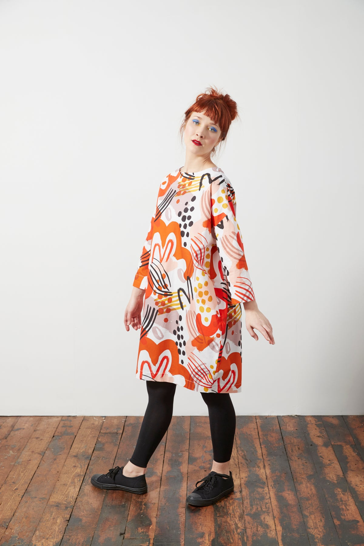 Image of Cocoon Dress - limited Edition Print