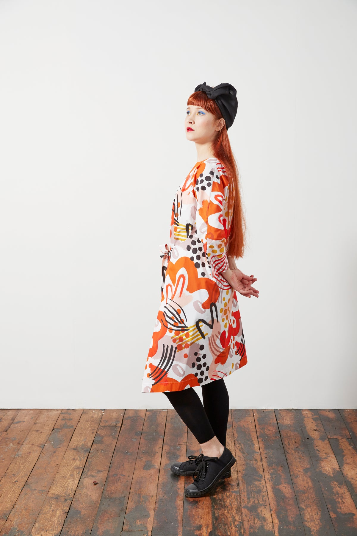 Image of Tie Back Dress - Limited Edition Print