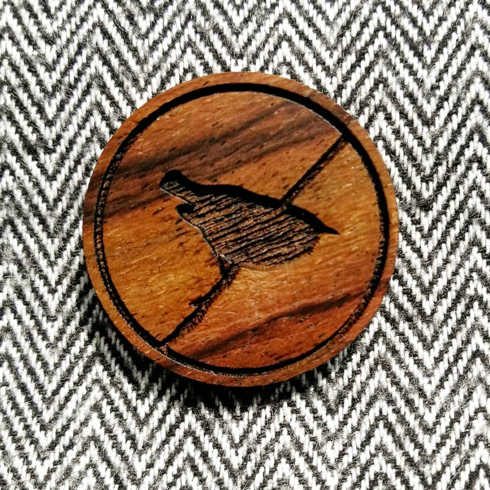 Image of Wren brooch