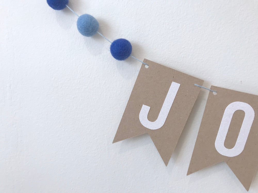 Image of Personalised Birthday Age Banner
