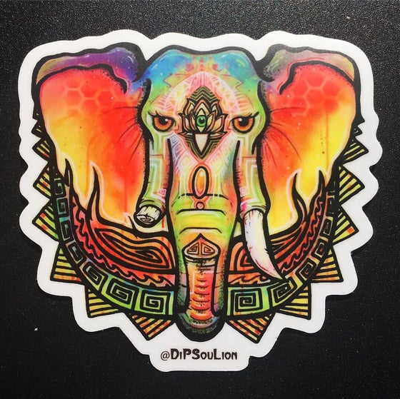 Image of Ganesha stickers