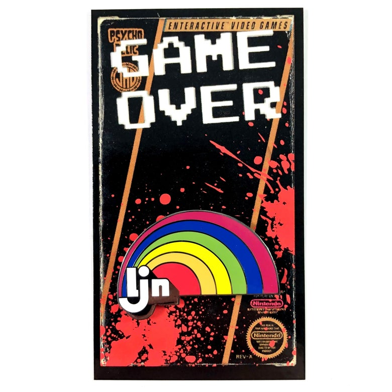 Image of LJN (Enamel Pin)