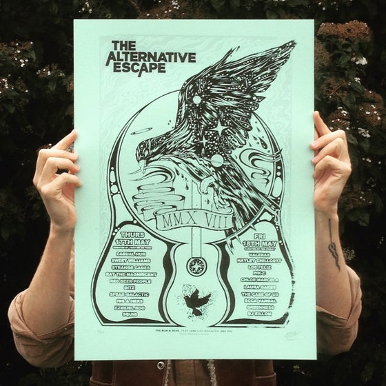 Image of The Alternative Escape 2018 Screen Print