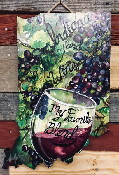 Image of Indiana Wine blend