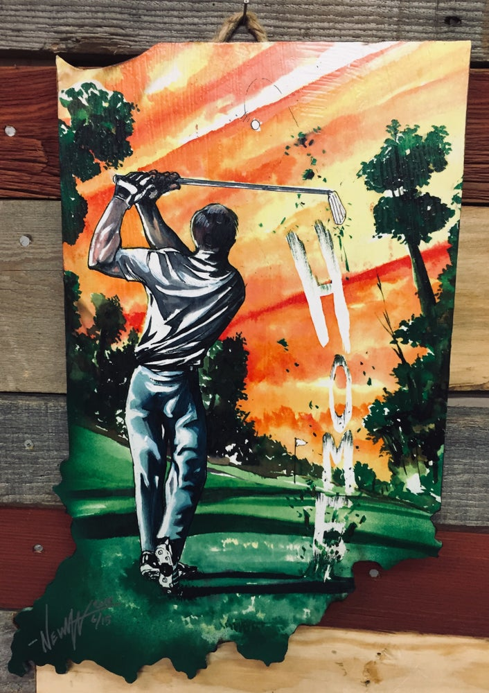 Image of Indiana Golfing for Home