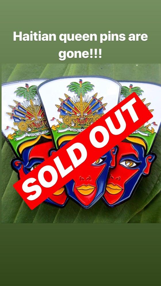 Image of Haitian queen pin
