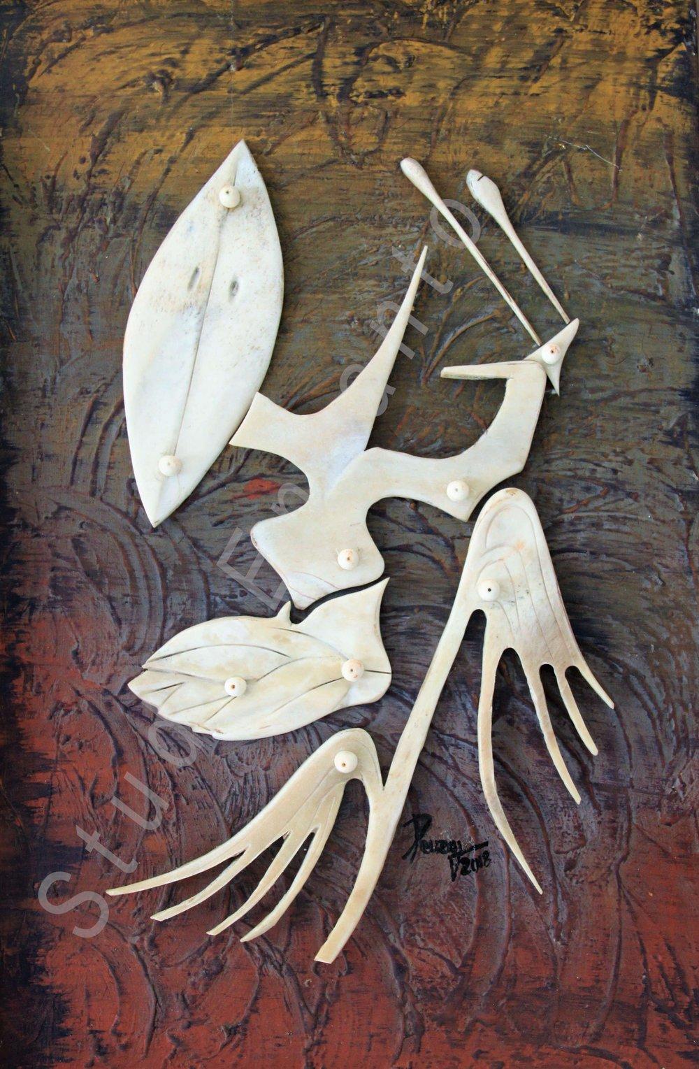 Image of Yaya - Aboriginal Deity Series by Rafael Cuza