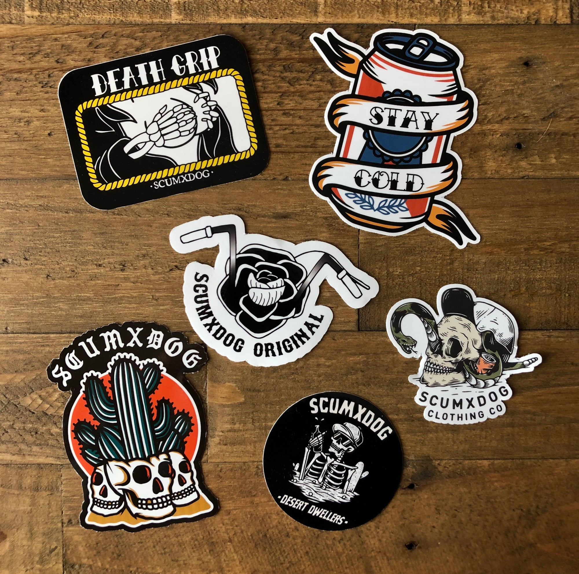 MORE INDIVIDUAL STICKERS
