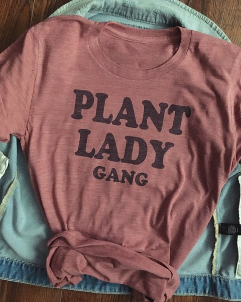 Image of Plant Lady Gang unisex tee