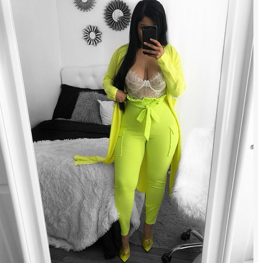 Image of Alicia neon pants